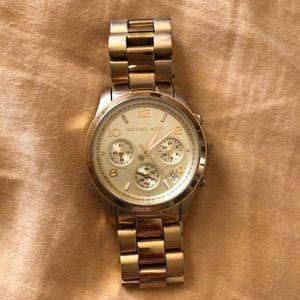 Michael Kors gold watch oversized